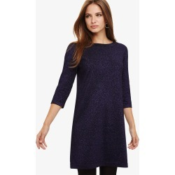 Phase Eight Sherri Shimmer Knitted Tunic Dress, Purple, Tunic found on Bargain Bro UK from Phase Eight