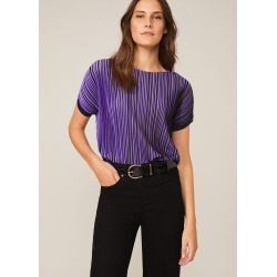 Phase Eight Pacey Pleat Top, Purple, T-Shirt found on Bargain Bro UK from Phase Eight