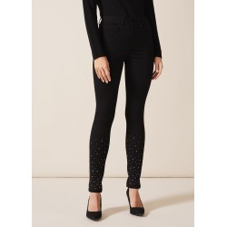 Phase Eight Women's Simmi Diamante Jean, Black, Skinny found on Bargain Bro UK from Phase Eight