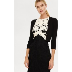 Phase Eight Salma Lightweight Knitted Jacket, Black, Bolero found on Bargain Bro UK from Phase Eight