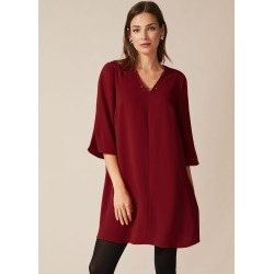 Phase Eight Elmira Swing Dress, Red, Swing found on MODAPINS from Phase Eight for USD $79.29