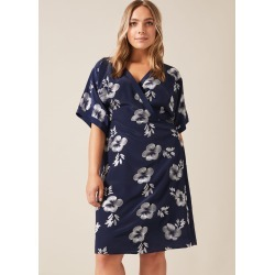 Studio 8 Lucinda Embroidered Dress, Blue, Shift, Occasion Dress found on MODAPINS from Phase Eight for USD $111.47