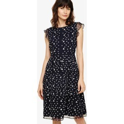 Phase Eight Bea Embroidered Daisy Dress, Blue, Shift found on Bargain Bro UK from Phase Eight