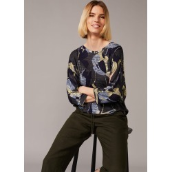 Phase Eight Paris Floral Top, Blue, Tops found on MODAPINS from Phase Eight for USD $38.87