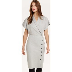 Phase Eight Bianca Button Detail Dress, Grey, Shift found on Bargain Bro UK from Phase Eight