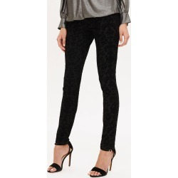 Phase Eight Women's Flocked Floral Jeans, Black, Jeggings found on Bargain Bro UK from Phase Eight