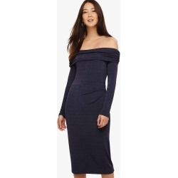 Phase Eight Bayley Bardot Dress, Metallic, Fitted found on Bargain Bro UK from Phase Eight