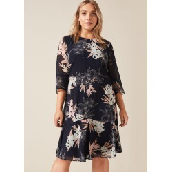 Studio 8 Aimee Printed Dress, Blue, Shift, Occasion Dress found on MODAPINS from Phase Eight for USD $162.82