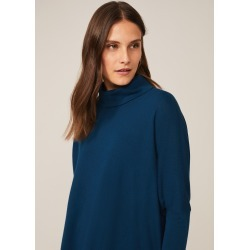 Phase Eight Melinda Cowl Neck Knit Top, Blue, Jumper found on Bargain Bro UK from Phase Eight