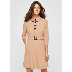 Damsel in a Dress Adie Button Detail Dress, Neutral found on MODAPINS from Phase Eight for USD $168.28