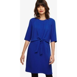 Phase Eight Christina Tie Front Dress, Blue, Shift found on Bargain Bro UK from Phase Eight