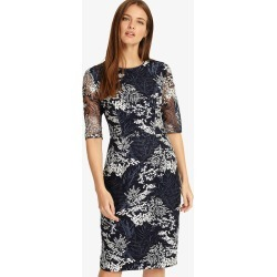 Phase Eight Fern Embroidered Dress, Blue, Shift found on Bargain Bro UK from Phase Eight
