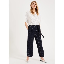Phase Eight Women's Sasha Spot Culottes, Blue, Culottes found on Bargain Bro UK from Phase Eight