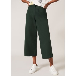 Phase Eight Women's Nora Denim Culotte, Green, Culottes found on Bargain Bro UK from Phase Eight