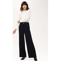 Phase Eight Women's Ramono Wide Leg Trousers, Blue, Wide found on Bargain Bro UK from Phase Eight