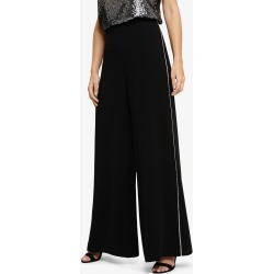 Phase Eight Women's Safia Diamante Trousers, Black, Wide found on Bargain Bro UK from Phase Eight