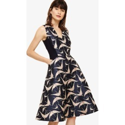 Phase Eight Delaphine Jacquard Dress, Blue, Fit & Flare found on Bargain Bro UK from Phase Eight
