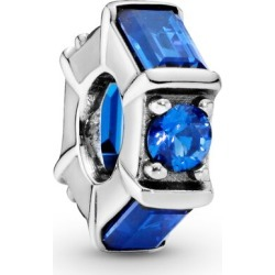 Pandora Blue Ice Cube Spacer Charm - Sterling Silver / Crystals found on MODAPINS from Pandora Jewellery UK for USD $43.84