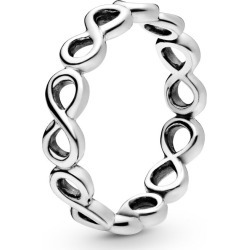 Pandora Simple Infinity Band Ring - Sterling Silver found on MODAPINS from Pandora Jewellery UK for USD $48.63
