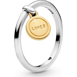 PANDORA Medallion Of Love Ring - Sterling Silver found on MODAPINS from Pandora Jewellery UK for USD $58.77