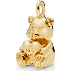 PANDORA Theodore Bear Pendant - 18ct Gold Plated found on MODAPINS from Pandora Jewellery UK for USD $45.71