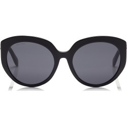 ETTY Grey Oval Sunglasses with Black Frame found on Bargain Bro Philippines from Jimmy Choo for $355.00