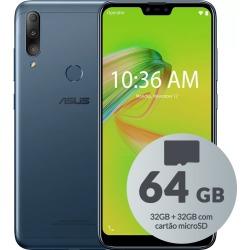 Smartphone Asus ZB634KL Zenfone Max Shot 64GB (32GB + 32GB de Cartão MicroSD) Octa-Core 3GB de RAM Tela 6,20