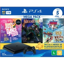 Console Playstation 4 Slim 1TB Mega Pack Bundle v11 - PS4 found on GamingScroll.com from Webfones for $1371.51