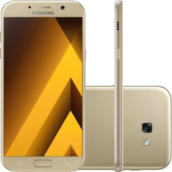 Smartphone Samsung A720 Galaxy A7 2017 Dourado 32GB found on Bargain Bro Philippines from Webfones for $391.51