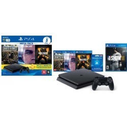 Console PlayStation 4 Slim 1 TB Bundle 5.1 + MLB The Show 18 - PS4