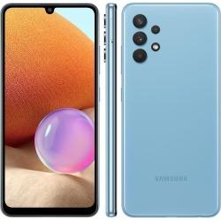 Smartphone Samsung A325 Galaxy A32 Azul 128GB, 4GB RAM, Tela Infinita de 6.4