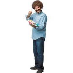 Adult Bob Ross Kit Costume