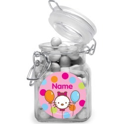 Hello Kitty Personalized Glass Apothecary Jars (10 Count)