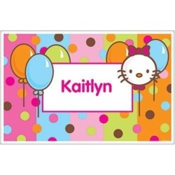 Hello Kitty Personalized Placemat (Each)