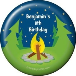 Camping Personalized Magnet (each)