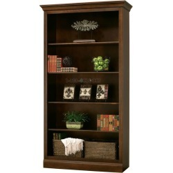 Howard Miller Oxford Center - Saratoga Cherry Curio Cabinet found on Bargain Bro India from 1-800-4CLOCKS for $1542.00