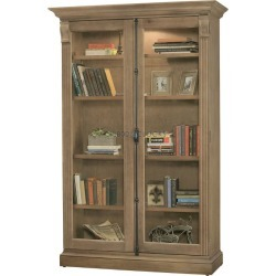 Howard Miller Chadsford II Aged Natural Collectors Cabinet-Floor found on Bargain Bro India from 1-800-4CLOCKS for $2872.00