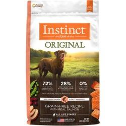 Nature's Variety Instinct Original Grain-Free Recipe with Real Salmon Dry Dog Food 20 lb