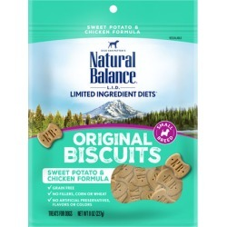 Natural Balance L.I.D. Limited Ingredient Diets Treats Sweet Potato & Chicken Small Breed 8 oz