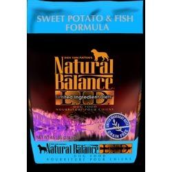 Natural Balance L.I.D. Limited Ingredient Diets Sweet Potato & Fish Formula 4.5 lb