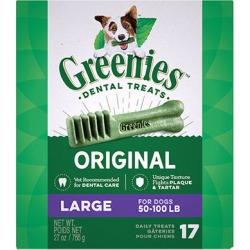 Greenies Dental Treats 27 oz Large 17 Treats