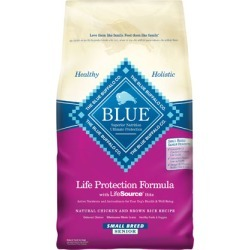 Blue Buffalo Senior Small Breed Dry Dog Food6 lb bag