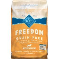 Blue Buffalo Freedom Large Breed Adult Dry Dog Food 24 lb