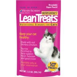 Nutrisentials Lean Treats for Cats 7 oz (includes 2 - 3.5 Oz bags)