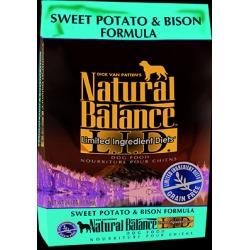 Natural Balance L.I.D. Limited Ingredient Diets Sweet Potato & Bison Formula 26 lb