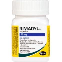 Rimadyl 25 mg Caplets 30 ct