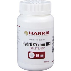 Hydroxyzine HCl 50 mg (sold per tablet) found on Bargain Bro from 1-800-petmeds for $0.24