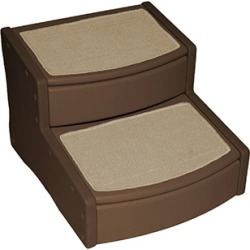 Pet Gear Extra Wide Easy Step II Pet Stairs - Chocolate