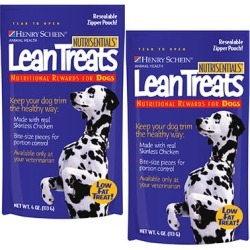 Nutrisentials Lean Treats for Dogs 8 oz (includes 2 - 4 oz bags)
