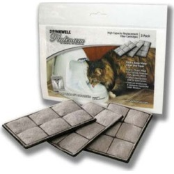 Drinkwell Platinum Pet Fountain Replacement Filters 3pk